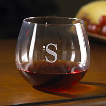 Personalized Wine Enthusiast U Pinot Noir Stemless Wine Glasses (Set of 2)