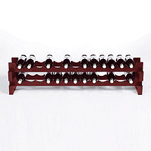26 Bottle Stackable Wine Rack Kit (Mahogany)