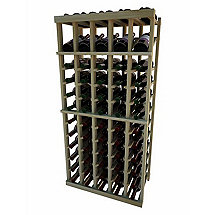 Napa Vintner Stackable Wine Rack - 5 Column Individual w / Display