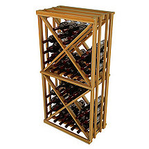 Napa Vintner Stackable Wine Rack - Open Diamond Cube