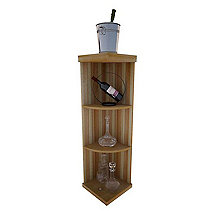 Vintner Series Wine Rack - Quarter Round Shelf Rack