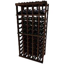Napa Vintner Stackable Wine Rack - 5 Column Individual w / Display