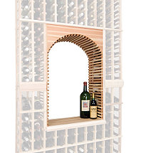 Napa Vintner Stackable Wine Rack - Archway & Table Top Insert