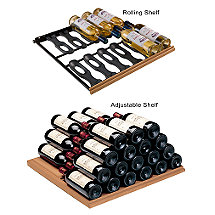 EuroCave Storage Pack - 2 Adjustable & 3 Main du Sommelier Rolling Shelves (Performance & Comfort Series) (Beech)