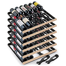Set of 6 EuroCave Main du Sommelier Rolling Shelves