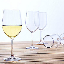 Indoor/Outdoor Chardonnay Wine Glasses (Set of 4)