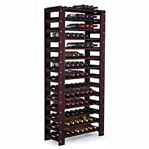 Swedish 126 Bottle Wine Rack (Mahogany)