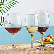 Indoor / Outdoor Wine Glasses Party Set (Set of 12)