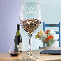 Put a Cork In It - Wine Glass Cork Holder
