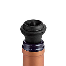 Wine Enthusiast Steal Seal Wine Stoppers (Set of