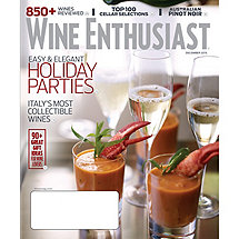 Wine Enthusiast Magazine (3 Years)