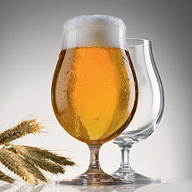 Spiegelau Beer Classics Stemmed Pilsner Glasses (Set of 2)