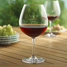 Personalized Indoor/Outdoor Pinot Noir Wine Glasses