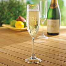 Personalized Indoor/Outdoor Champagne Flutes