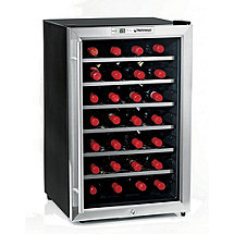 Wine Enthusiast Silent 28 Bottle Wine Refrigerator (Stainless Steel Trim Door) (Outlet B2720229)