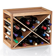 Cube Stack X-Style Wine Rack (Natural)