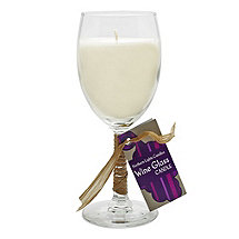 Riesling Scented Wine Glass Candle