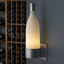 Wine Bottle Wall Sconce