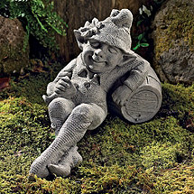 Tipsy Pixie Garden Statue