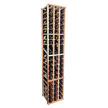 Designer Wine Rack Kit - 3 Column Individual w/ Display