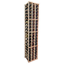 Designer Wine Rack Kit - 3 Column Individual