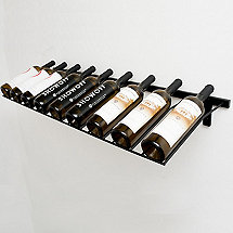 VintageView 9 Bottle Presentation Wine Rack