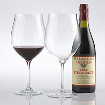 Fusion Triumph Pinot Noir / Burgundy Wine Glasses (Set of 2)