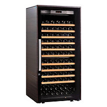 EuroCave Performance D�cor Collection 183 Wine Cellar (Dark Wood - Full Glass Door)