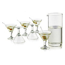 7 Piece Mini Martini Set