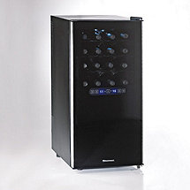 Wine Enthusiast Silent 32 Bottle Dual Zone Touchscreen Wine Refrigerator (Outlet B2720332)