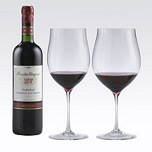 Fusion Triumph Red Wine Glass Collection (Set of 4)