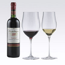 Fusion Triumph Red & White Wine Glass Collection (Set of 4)
