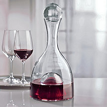 Visual Decanter with Glass Stopper