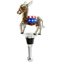Political Bottle Stopper (Democratic)