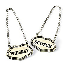 Decanter Tags (Whiskey / Scotch)