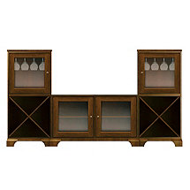 Howard Miller Jeffrey Wine Storage TV Console