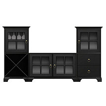Howard Miller Myles Wine Storage TV Console