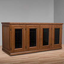 Vinotheque Franciscan Credenza with N'FINITY Cooling Unit