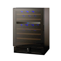 N'FINITY PRO 46 Dual Zone Wine Cellar (Glass Door Left Hinge)