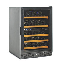 N'FINITY 50 Dual Zone Wine Cellar Black Trim