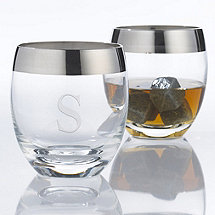 Personalized Madison Avenue Whiskey Glasses (Set of 2)