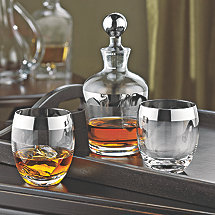 Madison Avenue Whiskey Decanter Set