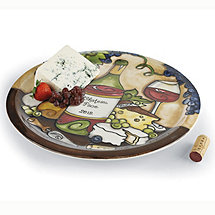Personalized Hand Painted Ceramic Lazy Susan
