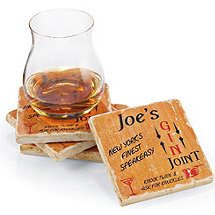 Personalized Speakeasy Coasters (Set of 4)