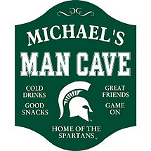 Michigan State Spartans Man Cave Sign