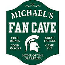Michigan State Spartans Fan Cave Sign