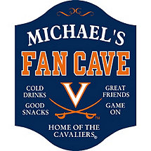 UVA Cavaliers Fan Cave Sign