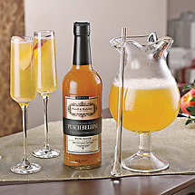 Gallone Decanter with Peach Bellini Mix