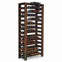 Swedish 126 Bottle Wine Rack (Walnut)