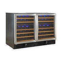 N'FINITY PRO 92 Bottle Wine Cellar (Double Stainless Steel Doors)